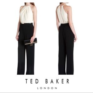 🆕 Ted Baker London Annaa Deep Front Fold Jumpsuit
